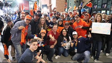 'It's been an amazing ride' | Fans thank Astros for another incredible season