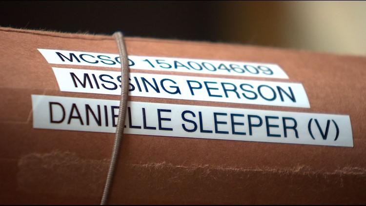 Danielle Sleeper case file
