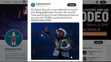 Los Tigres Del Norte sets new attendance record at Houston Livestock Show and Rodeo concert