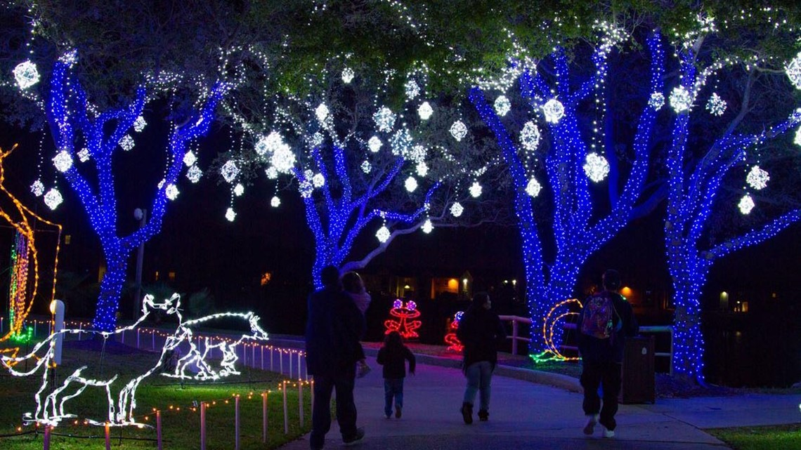 Festival Of Lights Moody Gardens December 11