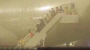 Coronavirus cruise ship passengers land in San Antonio for quarantine