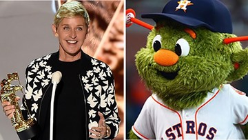 Ellen promises 'big surprise' today for some lucky Astros fans at Minute Maid Park
