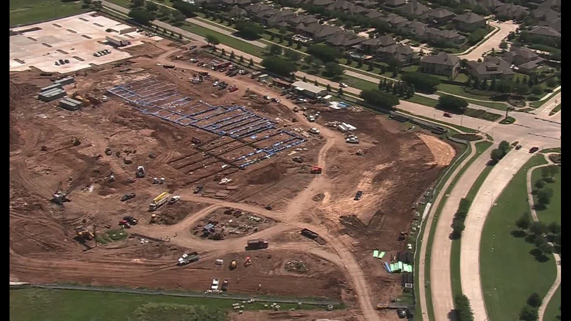 Workers find cemetery at Fort Bend school construction site