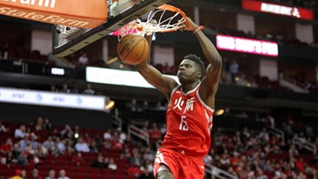 Rockets re-sign Clint Capela to five-year deal