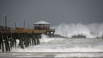 WATCH LIVE: Hurricane Florence live streams from Carolinas