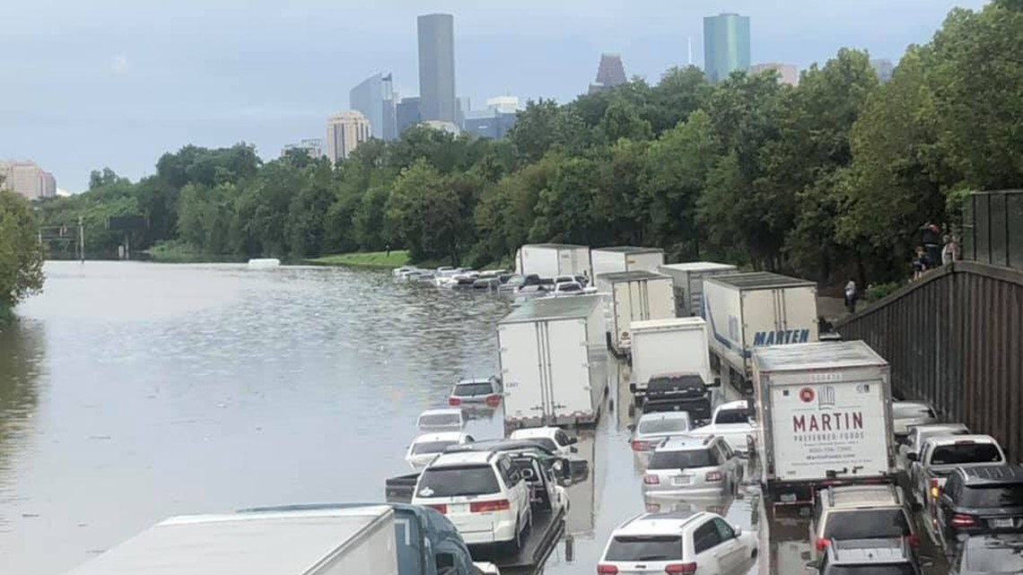 Texas governor waives towing regulations for flood-stranded vehicles