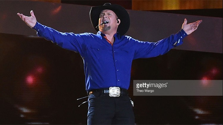 Garth Brooks performs at Yankee Stadium on July 8, 2016 in New York City. (Photo by Theo Wargo/Getty Images)