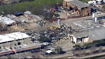 What is Watson Grinding & Manufacturing, the site of the major explosion in Houston?