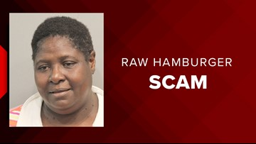 Sonic burned by fake hamburger scam after woman claimed she was served raw meat, Harris County prosecutors say