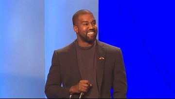 'The only superstar is Jesus' | Kanye West delivers energetic message while attending Lakewood Church