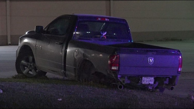 Man injured in possible street race