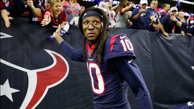 Reports: Texans trade star receiver DeAndre Hopkins to Cardinals