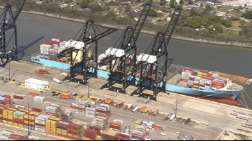 Truck driver killed in bizarre accident involving crane at Bayport Terminal in Harris County