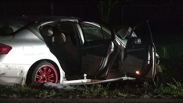 2 taken to hospital by Life Flight after suspected drunk driver causes major crash in NW Harris Co.