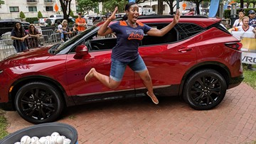 Beaumont woman, Ellen fans win BIG prizes before Astros game at Minute Maid Park
