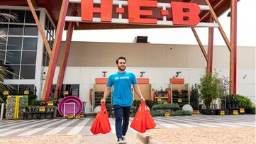 H-E-B, Favor team up to launch grocery delivery service for seniors