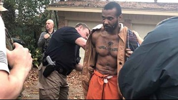 Murder suspect caught hiding in trash can in Montgomery County after escape
