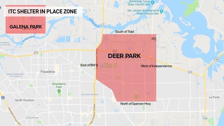 Watch live: Benzene levels prompt shelter-in-place near ITC Deer Park facility