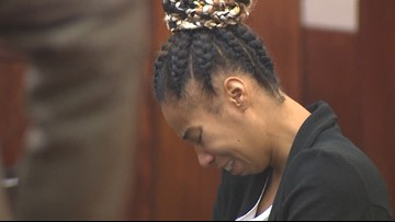 Houston woman accused of running over 3-year-old son in deadly 'game of chicken' taken back into custody