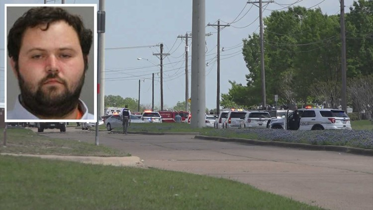 Suspect charged with murder in connection with mass shooting at Bryan cabinet shop