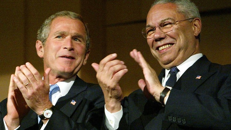 'A family man and a friend'    Former President George W. Bush remembers Gen. Colin Powell