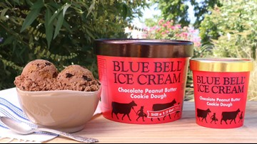 Enjoy the summer heat with Blue Bell release of Chocolate Peanut Butter Cookie Dough flavor