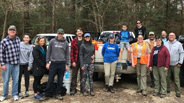 Big Thicket holds March 'Flash Mob Clean Up'