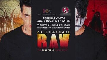 Win a pair of seats to see Criss Angel