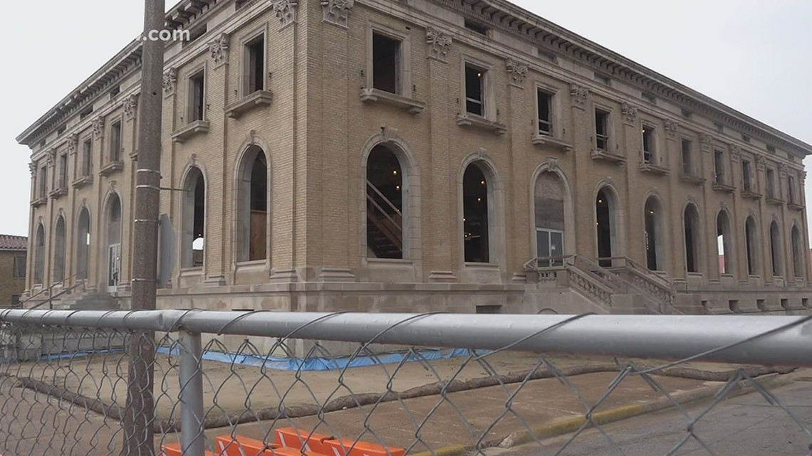 Crews revamp construction on Motiva's downtown Port Arthur campus