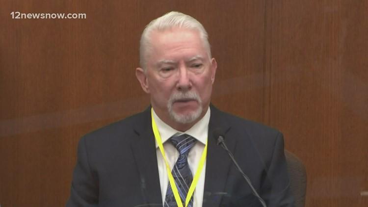 Force expert testifies in murder trial of George Floyd, calls Derek Chauvin's actions 'justified'