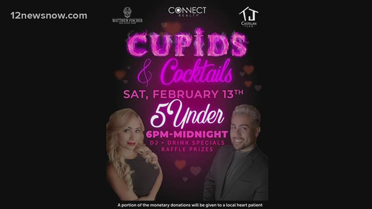 Give back, have fun at 6th annual Cupids and Cocktails in Beaumont on Valentine's Day