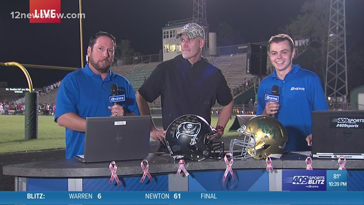 Vidor High School coach talks about undefeated season after win over LC-M 29 -12