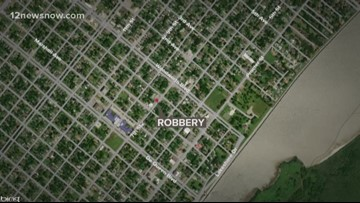 Port Arthur Police searching for suspect in Monday evening robbery