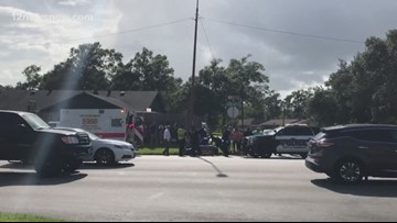 Young girl hit by vehicle near Marshall Middle School