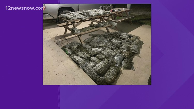 Orange County officials find 75 pounds of marijuana in burning Vidor home