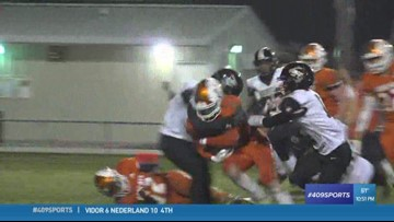 Woodville High School's Ronald Washington makes the week 9 Hit of the Week