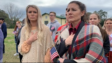 'Our duty,' Hundreds gather to welcome fallen army specialist, Jasper native home one last time