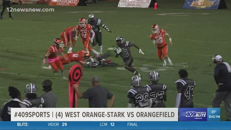 West Orange-Stark High School takes down Orangefield 27 - 7