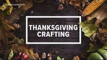 Thanksgiving centerpieces for your dining room table.