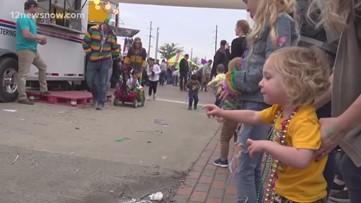 Munchkin Parade takes Beaumont's Mardi Gras Southeast Texas