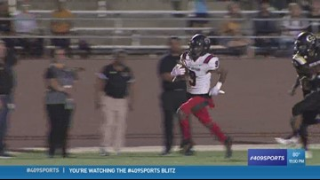 Port Arthur Memorial's Sanders connects with Kason Williams for the Play of the Week