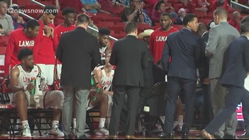 Lamar drops heartbreaker to Sam Houston