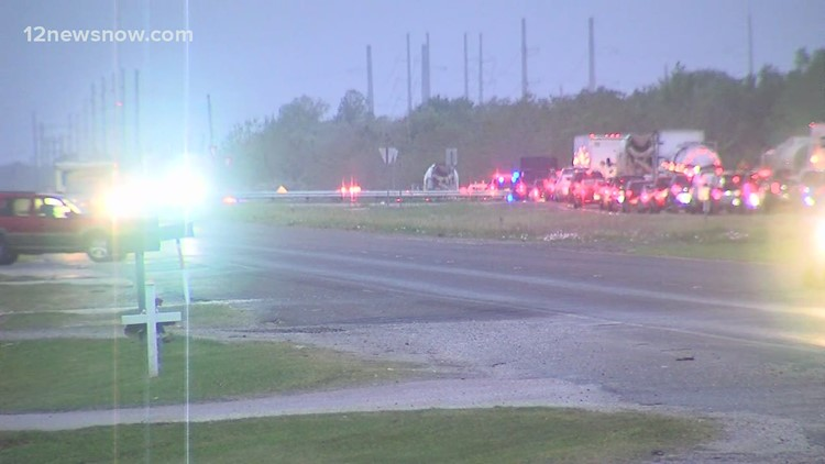Highway 90 blocked briefly Tuesday morning as standoff with armed man in car ends peacefully
