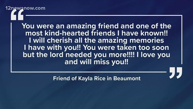 Friends remember Beaumont woman allegedly murdered by boyfriend