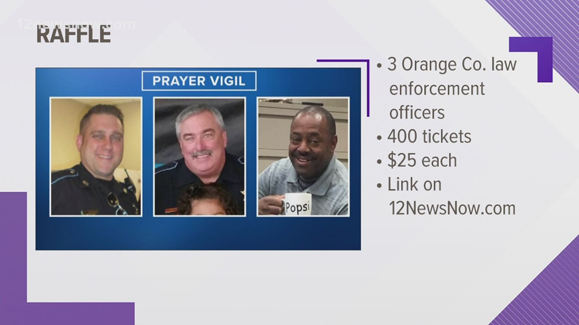 Orange County raffle set up to help local officials hospitalized, recovering from illnesses