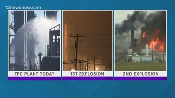 RECAP | TPC Group, timeline of events since the 1st explosion