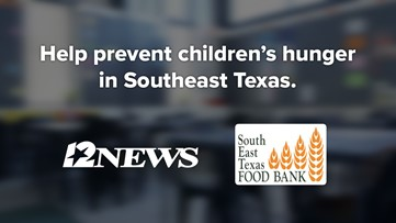 Southeast Texas Food Bank needs you to 'get involved,' help keep kids from going hungry