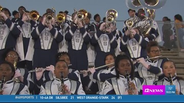 WEEK 7: One more look at the week 7 Band of the Week with the West Orange-Stark M3 band