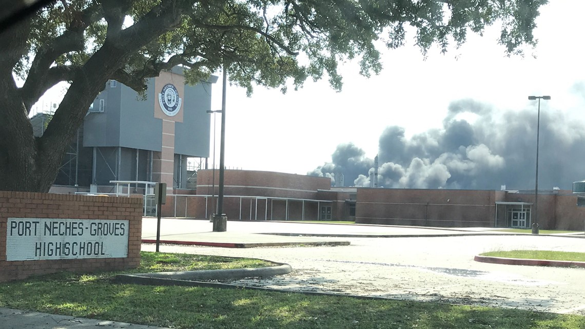Port Neches-Groves ISD set to resume classes Monday after air quality scare from TPC plant explosion