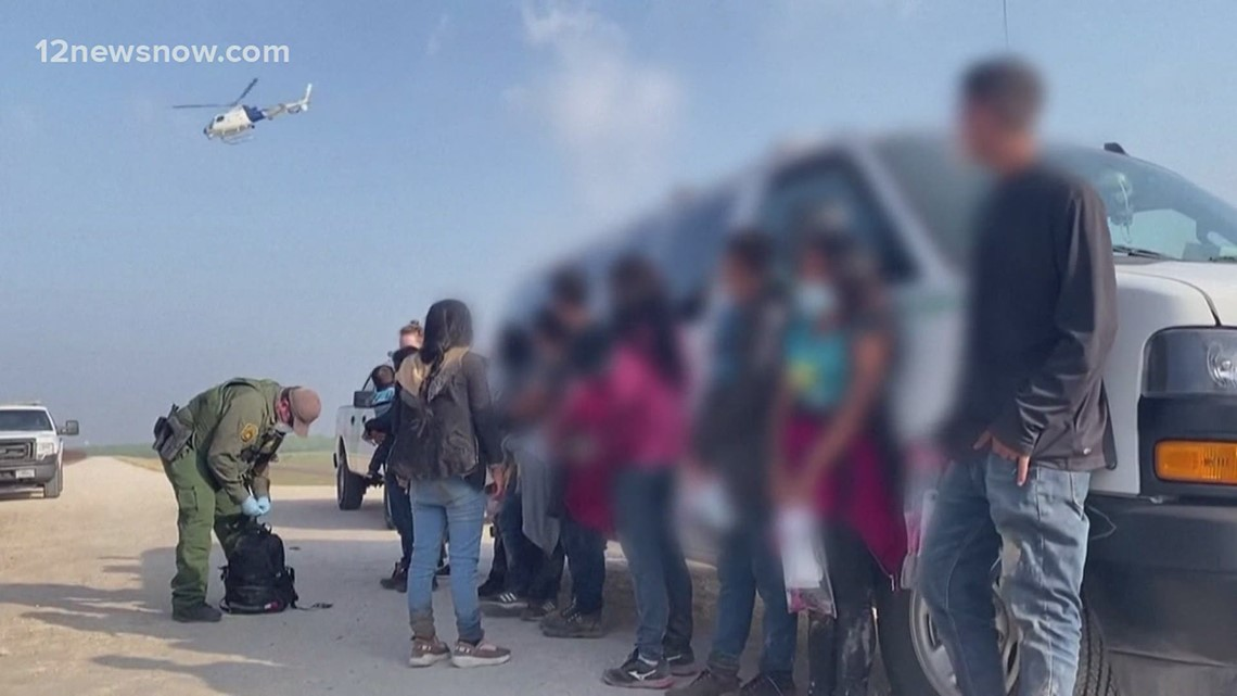 Border crisis: Texas Gov. Greg Abbott points finger at Biden administration for influx of migrant immigrants trying to enter the U.S.